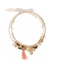Lonna And Lilly Coil Bee And Bead Bracelet Pink