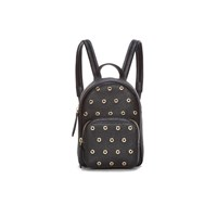 Red Valentino Redvalentino Women's Mini Eyelet Backpack Black