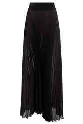 Galvan Pleated Maxi Skirt