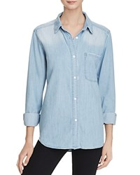 Rails Chambray Button Down Shirt Md Vintage