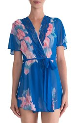 In Bloom By Jonquil Women's Floral Chiffon Robe
