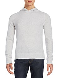 Saks Fifth Avenue Thermal Hoodie Glacier