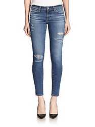 Ag Adriano Goldschmied Distressed Legging Ankle Jeans 12 Years Restored