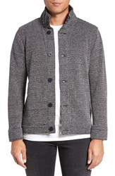 Kane And Unke Men's French Terry Knit Jacket