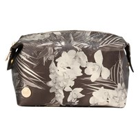 Mi Pac Gold Tropical Metallic Wash Bag Black