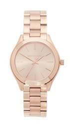 Michael Kors Mini Slim Runway Watch Rose Gold