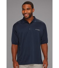 Columbia Perfect Cast Polo Collegiate Navy Men's Short Sleeve Pullover