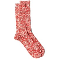 Anonymous Ism Slub Crew Sock Red