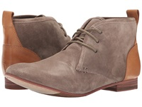 Sebago Hutton Chukka Dark Taupe Suede Men's Lace Up Boots Brown
