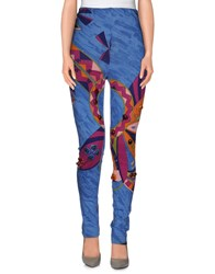 Blumarine Trousers Leggings Women Pastel Blue