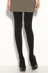 Donna Karan 'Luxe Layer' Tights Black
