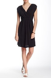 Lilla P Flame Cross Front Dress Black