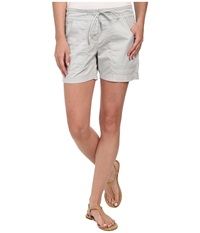 Tommy Bahama Solana Sateen Shorts Concrete Grey Women's Shorts Pink