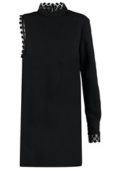 Pinko Rollerball Cocktail Dress Party Dress Nero Black