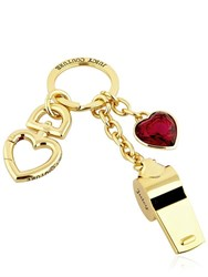Juicy Couture Charms And Whistle Key Ring