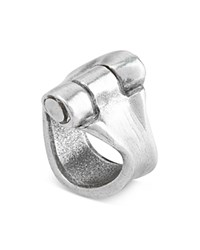 Uno De 50 Hinged Ring Silver