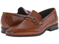 Stacy Adams Faraday Cognac Men's Slip On Dress Shoes Tan