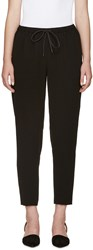Alexander Wang Black Tapered Lounge Pants