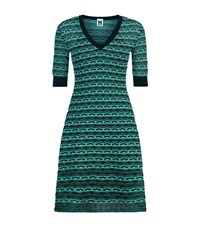 M Missoni Textured Knit Dress Female Multi