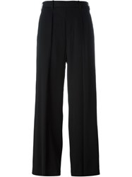 Neil Barrett Pleated Palazzo Pants Black