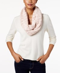 Bcbgeneration Thick And Thin Infinity Loop Scarf A Macy's Exclusive Style Rose Smoke