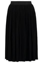 Only Onlmarky Pleated Skirt Black