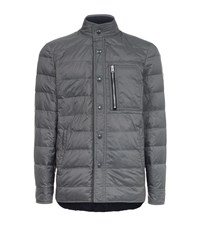 Tom Ford Quilted Down Jacket Male Grey