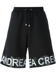 Andrea Crews 'Band' Shorts Black