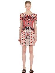 Temperley London Embroidered Tulle Mini Dress