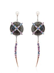 Katie Rowland Mercier Statement Earrings