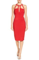 Love Nickie Lew Women's Cage Body Con Dress