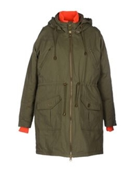 Gestuz Down Jackets Military Green