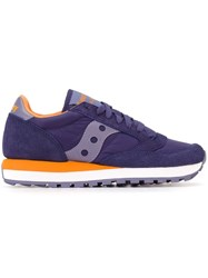 Saucony Tonal Panel Sneakers Pink And Purple