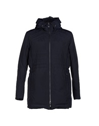 Dirk Bikkembergs Down Jackets Dark Blue