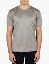 Paul Smith Grey Metallic Slim Fit T Shirt