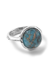 Ippolita 'Rock Candy' Stone Ring Silver Bronze Turquoise