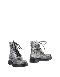 Ankle Boots Steel Grey