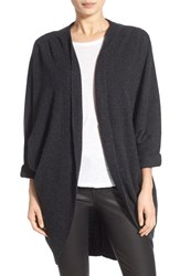 Women's James Perse Cashmere Cocoon Coat Anthracite