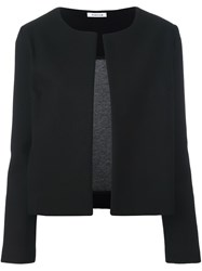 P.A.R.O.S.H. Collarless Jacket Black