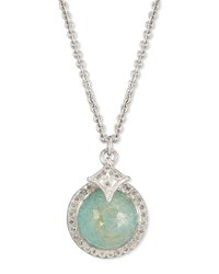 Armenta New World Doublet Pendant Necklace With Diamonds Silver