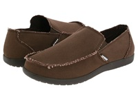 Crocs Santa Cruz Espresso Espresso Men's Slip On Shoes Brown