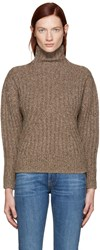 Toteme Brown Verbier Turtleneck