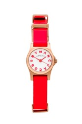 Marc By Marc Jacobs Henry Dinky Watch Orange