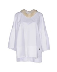 Twin Set Simona Barbieri Shirts Blouses Women White
