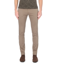 Tiger Of Sweden Transit Stretch Cotton Chinos Tan