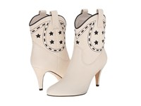 Marc Jacobs Georgia Cowboy Boot Ivory Women's Boots White