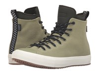 Converse Chuck Taylor All Star Ii Shield Canvas Sneaker Boot Hi Fatigue Green Green Onyx Egret Men's Shoes