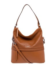 Lodis Kate Sunny Leather Hobo Toffee