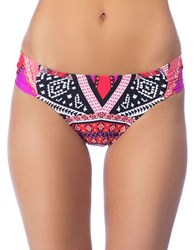 Kenneth Cole Without Borders Hipster Bikini Bottoms Lipstick