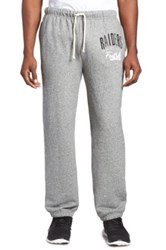 Junk Food 'Oakland Raiders' Fleece Sweatpants Gray